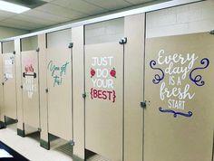 Trendy bathroom door ideas classroom Ideas - New Deko Sites Bathroom Mural, Bathroom Stall, Bathroom Doors, Bathroom Ideas, Bathroom Modern, School Hallways, School Murals, School Entrance, School Classroom