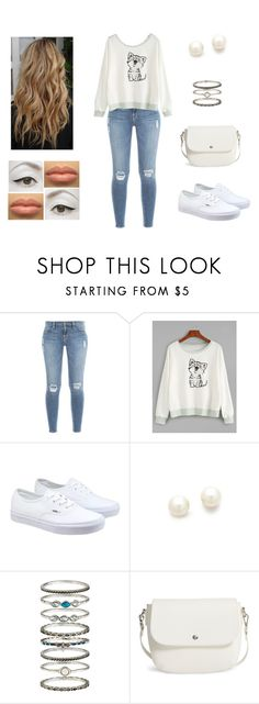 """""""Ordinary"""" by muppets-cookie-monster ❤ liked on Polyvore featuring Frame, Vans, Kenneth Jay Lane, Accessorize, BP. and Sedu"""