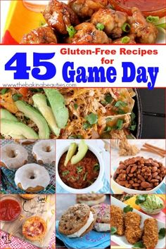 45 Gluten Free Recipes for Game Day from Faithfully Gluten Free