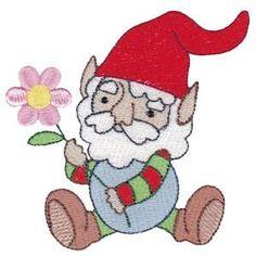 Embroidery Design Set - Gnomes 1