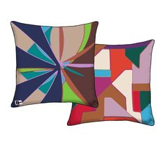 Organic Two Sided Pillow design by FJS