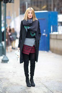 New York State of Mind: Street Style   - HarpersBAZAAR.com