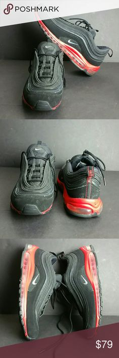 NIKE AIR MAX 97 MEN'S SHOES IN GOOD CONDITION   SKE # BBC NIKE Shoes Athletic Shoes