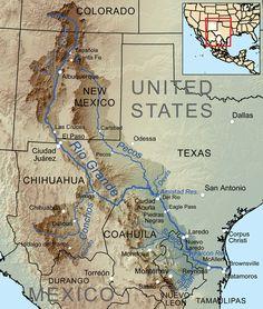 Map of the Rio Grande Basin