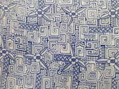 """Printed silk by the Stehli Silks Corp. titled """"Americana Print: Mayan"""", designed by Charles B. Falls, Inspired by ancient Mayan art. Textiles, Textile Prints, Textile Design, Mayan Tattoos, American National Parks, Graphic Artwork, Stone Carving, Historian, Metropolitan Museum"""