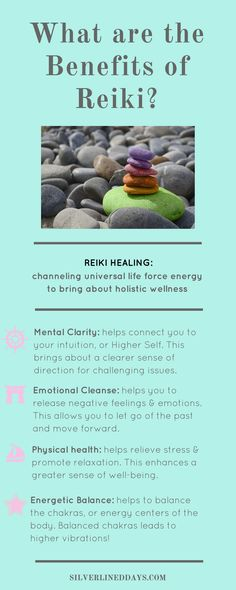 Reiki healing can benefit us on the physical, mental, emotional and energetic level!  chakras | holistic wellness | holistic healing | law of attraction | metaphysical | lightworker