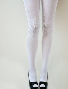 Bejeweled Tights
