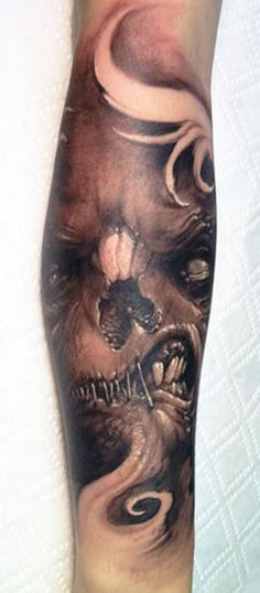Realism Monsters  by Tommy Lee Wendtner | Tattoo No. 4927