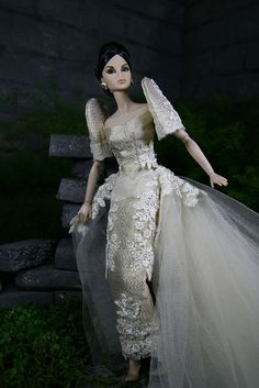 Modern Filipiniana by my scene junkie, via Flickr Barbie Wedding Dress, Barbie Gowns, Barbie Dress, Filipiniana Wedding Theme, Modern Filipiniana Dress, Philippines Dress, Bridal Gowns, Wedding Gowns, Filipino Fashion