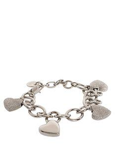Dyrberg Kern Heart Charm Bracelet