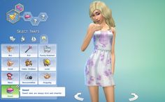 Sweet Trait by pastel-sims at Mod The Sims via Sims 4 Updates