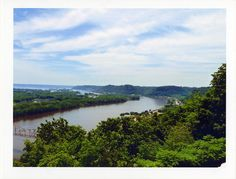 The Mighty Mississippi, viewed from Mount Hosmer Park, Iowa | Flickr - Photo Sharing!