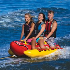 Hot Dog® Inflatable Towable with Tow Rope