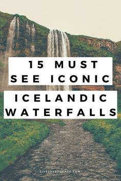 Iceland is full of so many things to do and see. But nothing beats the Iconic Iceland Waterfalls. These 15 waterfalls are unique in their own ways and bring beautiful scenery to any trip. #iceland #icelandwaterfalls #exploreiceland