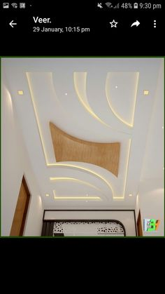 Ciling Drawing Room Ceiling Design, Gypsum Ceiling Design, Interior Ceiling Design, House Ceiling Design, Ceiling Design Living Room, False Ceiling Living Room, Ceiling Light Design, Ceiling Decor, Fall Ceiling Designs Bedroom
