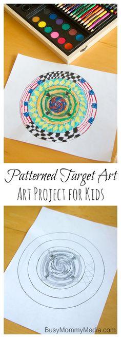 Patterned Target Art