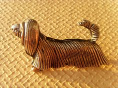 Soviet Vintage Dog Brooch Made in USSR in 1970s. by Astra9 on Etsy, $12.50