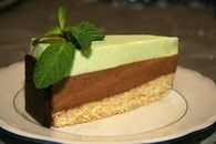 After Eight, Mousse Cake, Tea Time, Food And Drink, Cake Layers, Cakes, Mint Chocolate, Sugar, Sweet Recipes