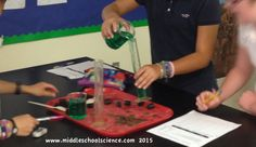 Middle school science. Science matters.