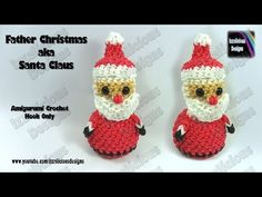 Rainbow Loom Snowman 3D Charms - How to Loom Bands- Holiday/Christmas Ornaments - YouTube