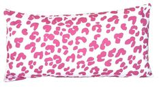 Pink Ocelot Lumbar Pillow - contemporary - pillows - Dana Gibson