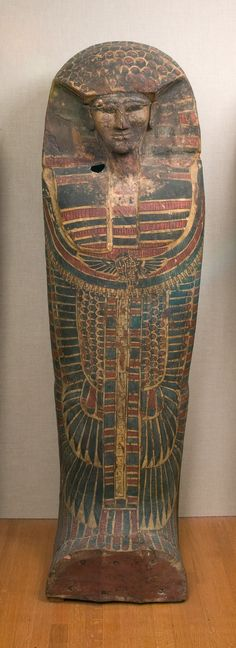 Rishi coffin of the Lady Rini Period: Second Intermediate Period Dynasty: Dynasty 17 Date: ca. 1640–1550 B.C. Geography: From Egypt, Upper Egypt; Thebes, el-Asasif, Tomb CC 46/3, Courtyard, north side, Carnarvon/Carter excavations