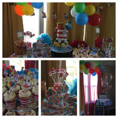 Dr. Seuss first birthday party!
