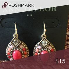 NWT ANN TAYLOR EARRINGS Gorgeous , chic, trendy ,boho style earrings day to night! Ann Taylor Jewelry Earrings