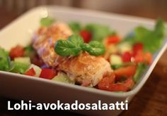 Lohi-avokadosalaatti #kauppahalli24 #resepti #salaatti #lohi Orange Crush, Passion For Fashion, Kala, Recipes, Recipies, Ripped Recipes, Recipe, Cooking Recipes