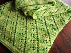 Free Knitting Pattern - Scarves: Lettuce Leaf Scarf