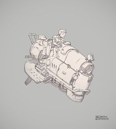 The Pictomancer: Flying vehicle things Concept Ships, Concept Cars, Character Design References, Character Art, Science Fiction, Arte Steampunk, Spaceship Design, Tecno, Prop Design