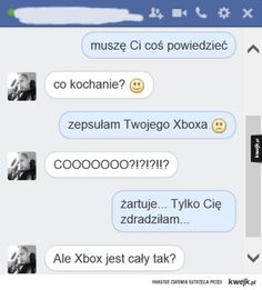 Polish Memes, Funny Sms, Happy Photos, Xbox, Creepypasta, Best Memes, I Laughed, Funny Pictures, Jokes