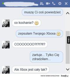 #kwejk #rozmowa #para #xbox #zdrada #humor