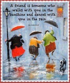 Dancin' in the rain Inge Look Rain Dance, Dance Art, Umbrella Art, Singing In The Rain, Art Abstrait, Pics Art, Rainy Days, Painting & Drawing, Rain Painting