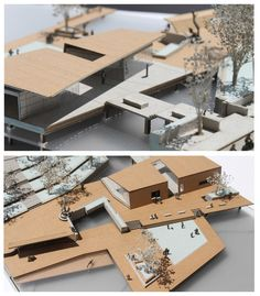 "Samuel Alamo, Marcela Arango, Ryan Dyer, USF School of Architecture, Class of 2015 Adv Design C: ""Designing the Ghost City"" - Distinguished Prof. Maquette Architecture, Architecture Student, Architecture Drawings, Concept Architecture, Landscape Architecture, Interior Architecture, Scale Model Architecture, Architecture Panel, Architecture Portfolio"