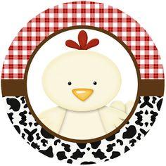 La Granja Bebés: Wrappers y Toppers para Cupcakes para Imprimir Gratis. Cowboy Theme Party, Farm Themed Party, Barnyard Party, Farm Party, Farm Animal Party, Farm Animal Birthday, Farm Birthday, Birthday Party Themes, Sheriff Callie Birthday