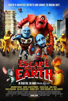 Escape From Planet Earth wallpapers Movie HQ Escape From Planet