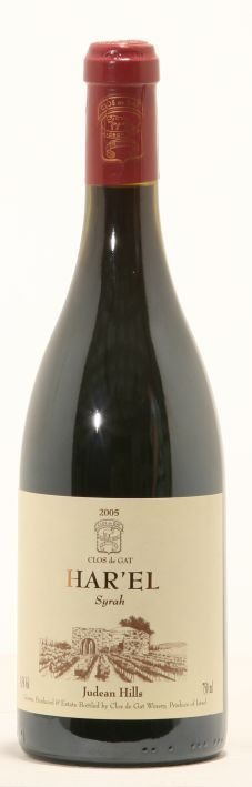 CLOS de GAT Harel Syrah 2008 - One of the best Syrah's I've ever tasted!