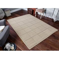 Kitchen Hall Mat Anti Slip Backing Washable Flat Weave Sisal Seagr In Home Furniture Diy Rugs Carpets Other