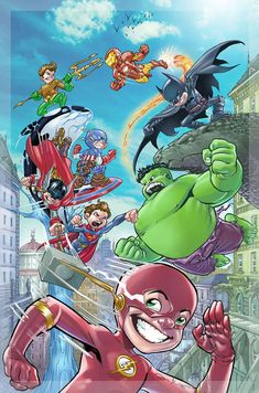 #Marvel #And #DC Fan #Art. (marvel vs dc) By: IwanNazif. ÅWESOMENESS!!!™ ÅÅÅ+