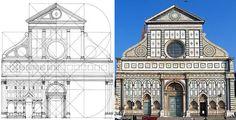 Fachada de Santa Maria Novella - Alberti