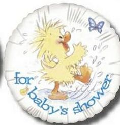 """For Baby's Shower Round Suzy's Zoo Balloons / 18""""For Baby's Shower Round Suzy's Zoo Balloons / 18"""" #timelesstreasure"""