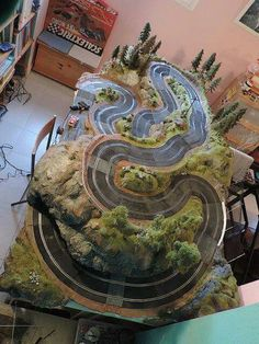twisty mountain course