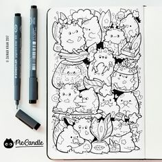 Fluffy Doodle by #piccandle 09JAN17