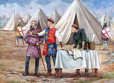 Sasha Lunyakov. Henry V at Agincourt, 1415.