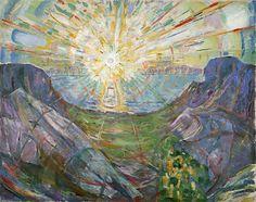 Edvard Munch - The Sun - 1910/13