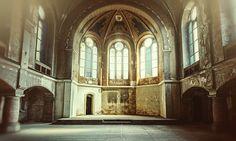 Ruined church in Germany - dead church 2 by ~LilifIlane on deviantART - http://lilifilane.deviantart.com/gallery/#/d5fib71