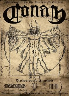 Conan  The Underworld (London, UK) October 2014