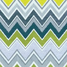Zenyatta Mondatta | 54790 in Peacock | Schumacher Fabric