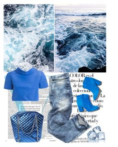 """Ocean Love"" by shaneeeee ❤ liked on Polyvore featuring Victoria Beckham, Arco, Laurence Dacade, Oscar de la Renta, women's clothing, women's fashion, women, female, woman and misses"